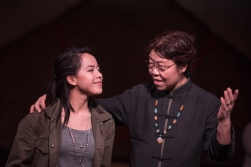 Mikaela Cordero as Jaqueline and Shasha Huo as Grandma Chan