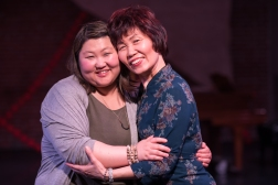 Angela Sun as Anne and Susan Chou as Grandma Lee