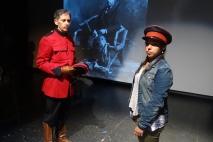 Louis Adams as J.D. Moodie and Lisa Nasson as Camera