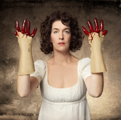 Laura Condlln as Mary Shelley in Frankenstein Revisited