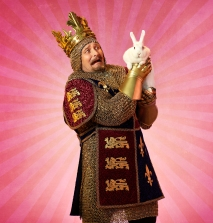 Jonathan Goad as King Arthur in Monty Python's Spamalot
